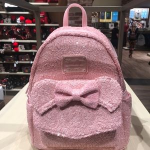 e48eb3e54f2 Loungefly Bags - Millennial Pink Loungefly Backpack Disney